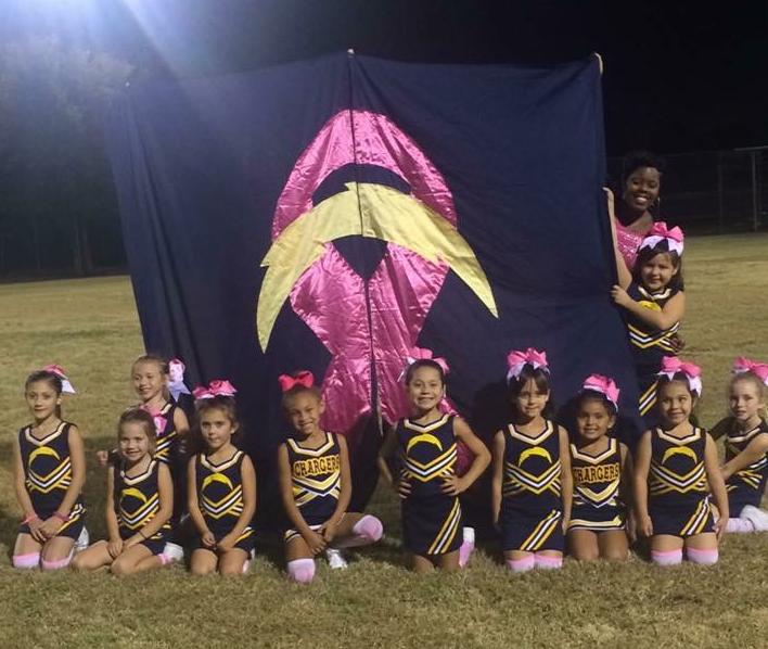 The BYFA Cheerleaders